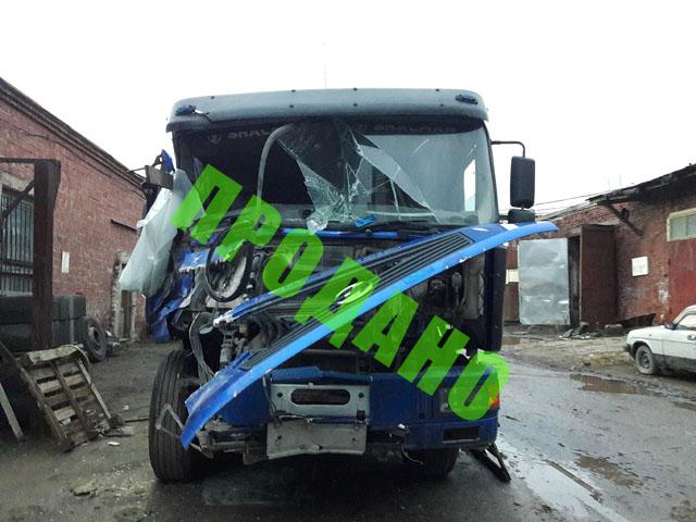 Битый и неисправный грузовик